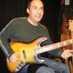 Dominique DiPiazza avec une Fender de 1971