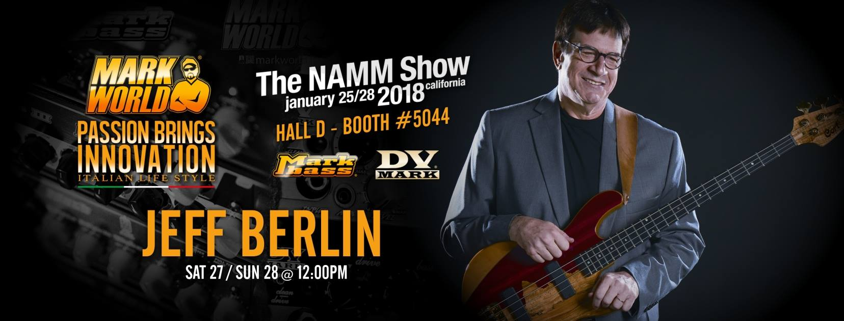 Jeff Berlin show Namm 2018