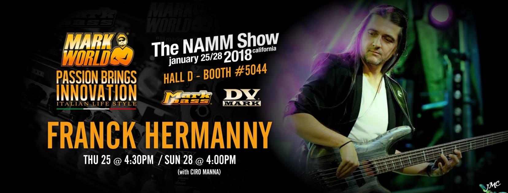 Franck Hermanny show Namm 2018