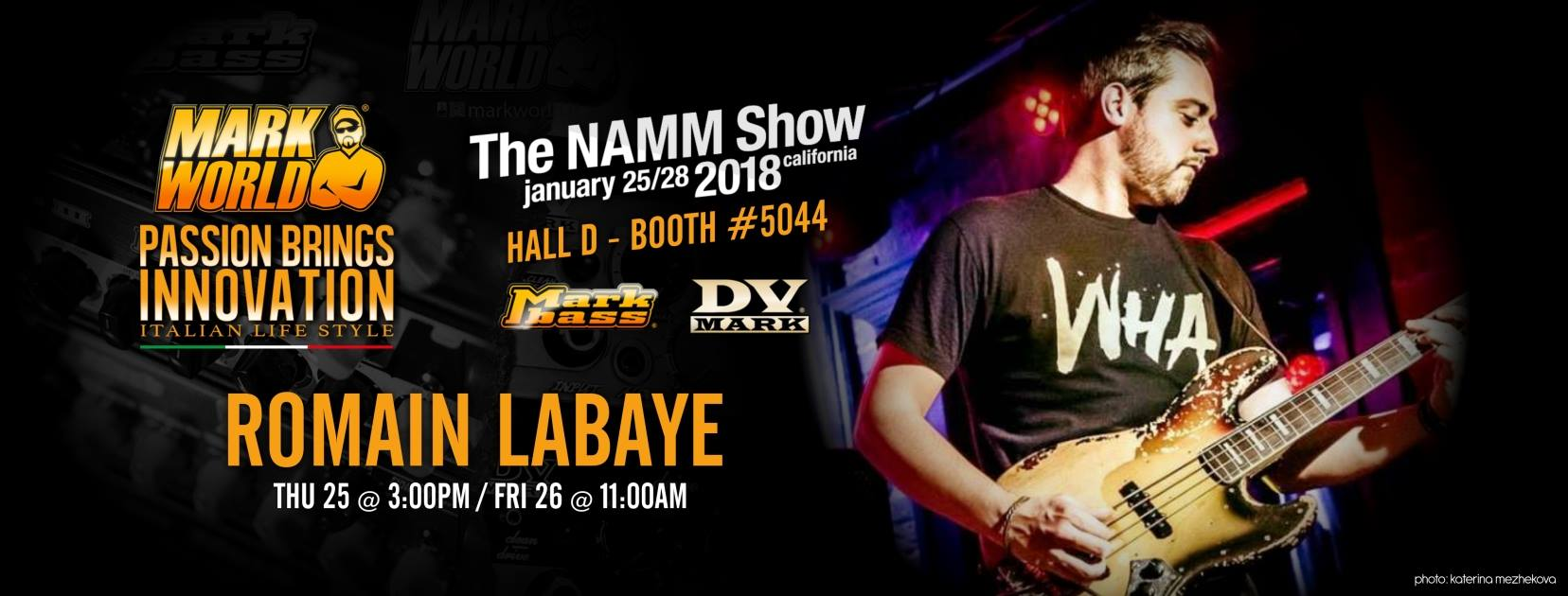 Romain Labayes how Namm 2018