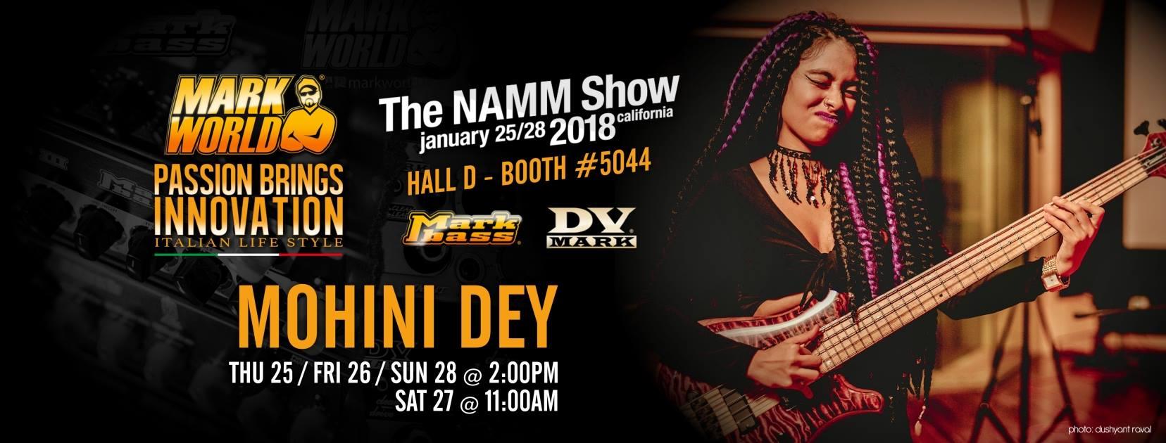 Mohini Dey show Namm 2018