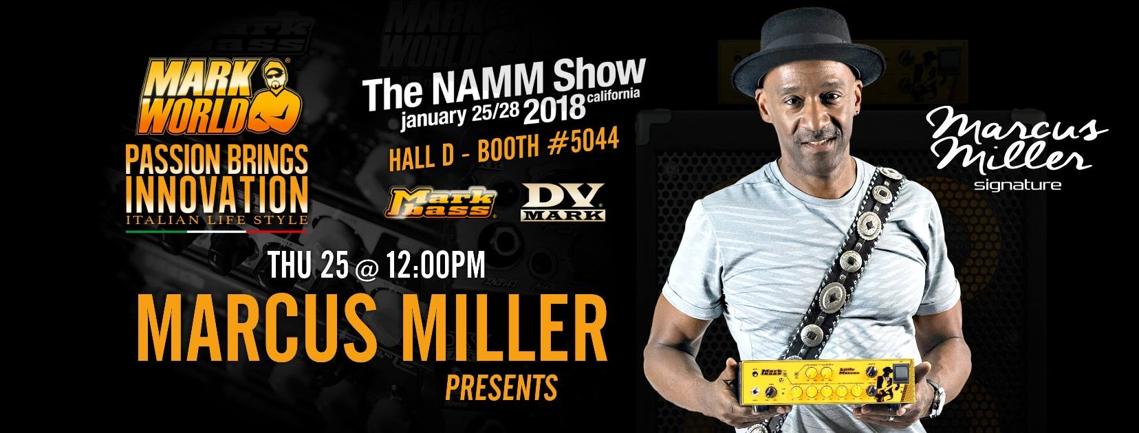 Marcu Miller show Namm 2018